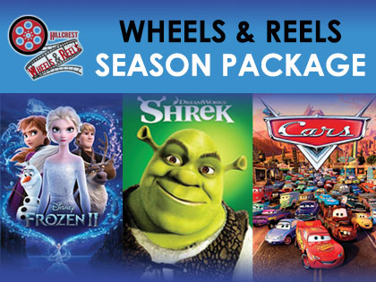 Wheels and Reels: Winter 2021 Movie Package
